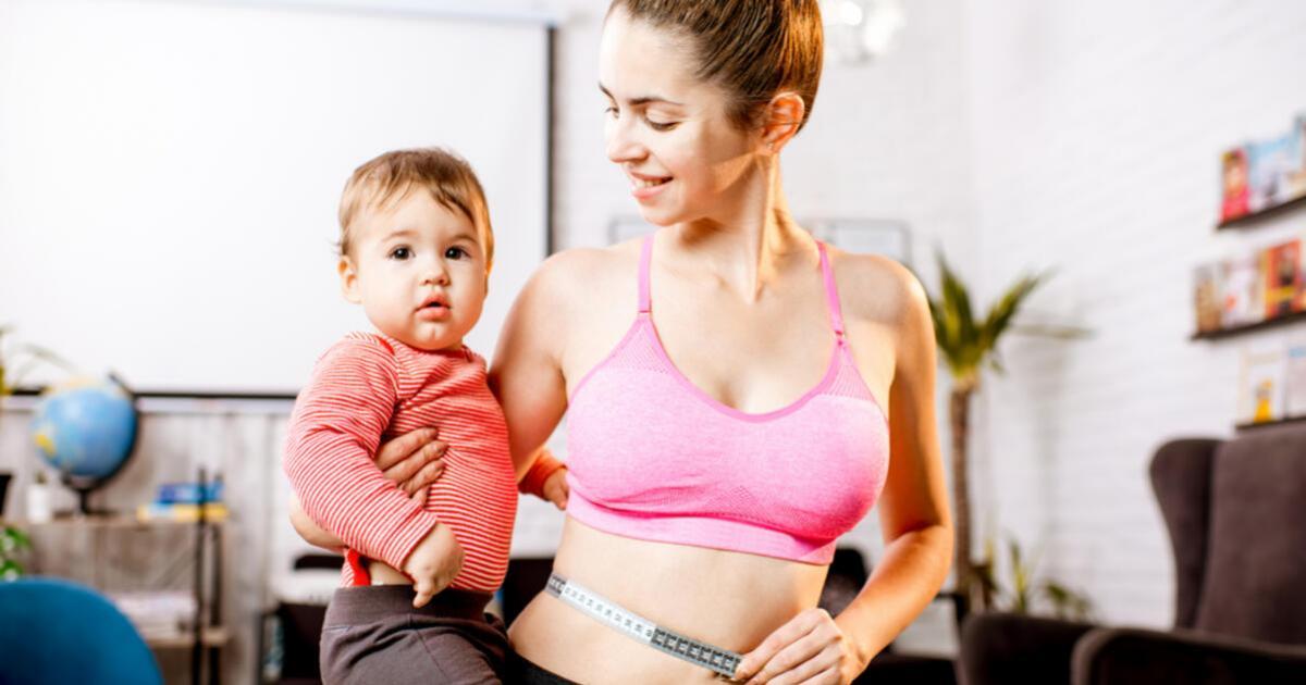 hogyan lehet égetni a hasi zsírt szülés után