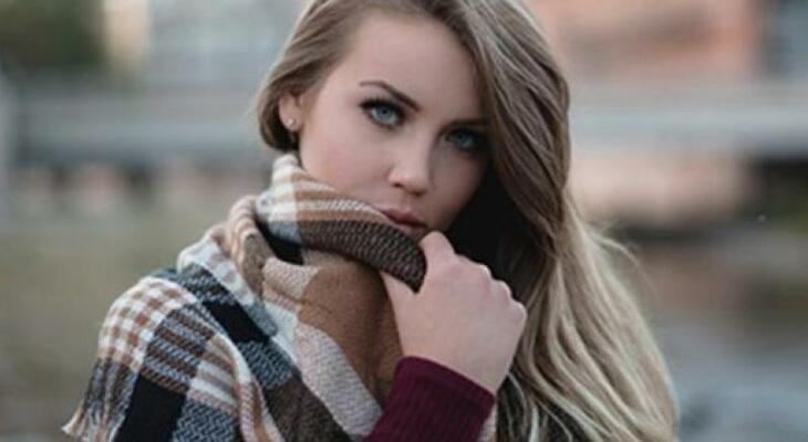 karcsúsító módok a sál viselésére